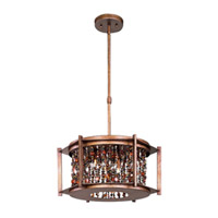 Maxim Lighting Trinket 6 Light Single Pendant in Chestnut 21575CT