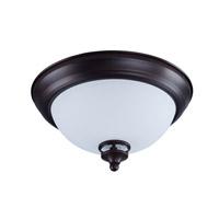Maxim 21580SWOI Novus 1 Light 11 inch Oil Rubbed Bronze Flush Mount Ceiling Light