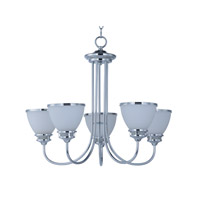 Maxim 21585SWPC Novus 5 Light 24 inch Polished Chrome Chandelier Ceiling Light