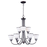 Maxim 21587SWOI Novus 9 Light 30 inch Oil Rubbed Bronze Chandelier Ceiling Light
