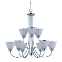 Maxim 21587SWPC Novus 9 Light 30 inch Polished Chrome Chandelier Ceiling Light