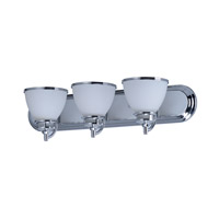 Maxim 21593SWPC Novus 3 Light 24 inch Polished Chrome Vanity Light Wall Light