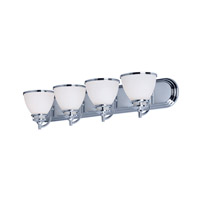 Maxim 21594SWPC Novus 4 Light 30 inch Polished Chrome Vanity Light Wall Light