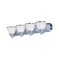 Maxim 21594SWPC Novus 4 Light 30 inch Polished Chrome Vanity Light Wall Light