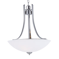 Taylor 3 Light 20 inch Satin Nickel Invert Bowl Pendant Ceiling Light
