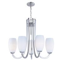 Taylor 5 Light 28 inch Satin Nickel Chandelier Ceiling Light