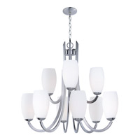 Taylor 9 Light 32 inch Satin Nickel Chandelier Ceiling Light
