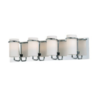 Avant 4 Light 24 inch Polished Chrome Bath Vanity Wall Light