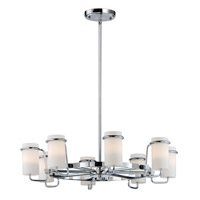 Avant 8 Light 25 inch Polished Chrome Single-Tier Chandelier Ceiling Light