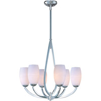 Maxim Lighting Elan 6 Light Single Tier Chandelier in Polished Chrome 22175SWPC