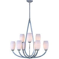 Maxim Lighting Elan 9 Light Multi-Tier Chandelier in Polished Chrome 22176SWPC