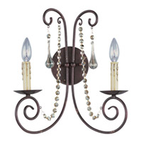 Maxim Lighting Adriana 2 Light Wall Sconce in Urban Rustic 22202UR
