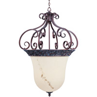 Maxim Lighting Apollo 6 Light Pendant in Greek Bronze 2221WHGB
