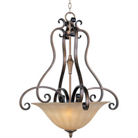 Maxim 22243WSPD Fremont 3 Light 26 inch Platinum Dusk Pendant Ceiling Light