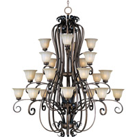 Maxim 22248WSPD Fremont 24 Light 58 inch Platinum Dusk Multi-Tier Chandelier Ceiling Light photo thumbnail