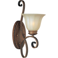 Maxim Lighting Fremont 1 Light Wall Sconce in Platinum Dusk 22251WSPD