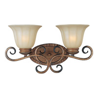 Maxim Lighting Fremont 2 Light Bath Light in Platinum Dusk 22252WSPD
