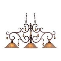 Maxim Lighting Dresden 3 Light Island Pendant in Filbert 22269EMFL