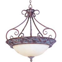 Maxim Lighting Apollo 4 Light Pendant in Greek Bronze 2227WHGB