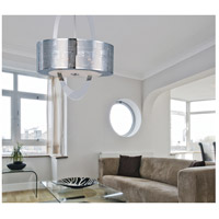 Mirage 6 Light 14 inch Polished Nickel Pendant Ceiling Light