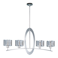 Maxim Lighting Mirage 4 Light Pendant in Polished Nickel 22307PN