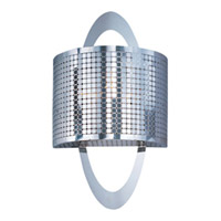 Maxim Lighting Mirage 1 Light Wall Sconce in Polished Nickel 22308PN
