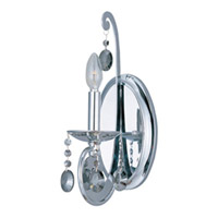 Maxim Lighting Cyclone 1 Light Wall Sconce in Polished Chrome 22329PC