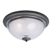 Maxim Lighting Bayview 3 Light Flush Mount in Bronze 22340CLFTBZ