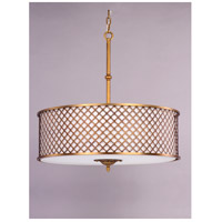 Maxim 22364OMNAB Manchester 6 Light 27 inch Natural Aged Brass Single Pendant Ceiling Light alternative photo thumbnail