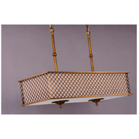 Maxim 22365OMNAB Manchester 8 Light 36 inch Natural Aged Brass Island Pendant Ceiling Light alternative photo thumbnail