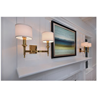 Maxim 22379OMNAB Fairmont 2 Light 18 inch Natural Aged Brass Wall Sconce Wall Light  alternative photo thumbnail