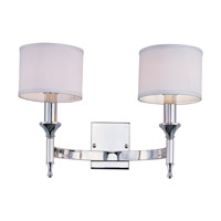Maxim Lighting Fairmont 2 Light Wall Sconce in Polished Nickel 22379WTPN