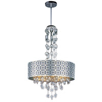 Symmetry 8 Light 26 inch Polished Nickel Single Pendant Ceiling Light