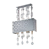 Symmetry 3 Light 16 inch Polished Nickel Wall Sconce Wall Light