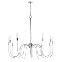 Willsburg 12 Light 35 inch Polished Nickel Single-Tier Chandelier Ceiling Light