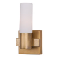 Maxim Lighting Contessa 1 Light Wall Sconce in Natural Aged Brass 22411SWNAB