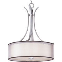 Orion 4 Light 23 inch Satin Nickel Pendant Ceiling Light