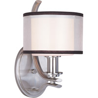Maxim 23038SWSN Orion 1 Light 7 inch Satin Nickel Wall Sconce Wall Light photo thumbnail