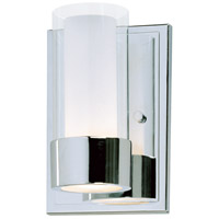 Maxim 23071CLFTPC Silo 1 Light 5 inch Polished Chrome Wall Sconce Wall Light