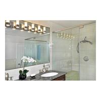 Maxim 23076clftpc Silo 6 Light 40 Inch Polished Chrome Bath Wall Alternative Photo Thumbnail
