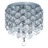 Maxim 23090BCPC Cirque 7 Light 15 inch Polished Chrome Flush Mount Ceiling Light