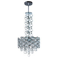 Cirque 6 Light 15 inch Polished Chrome Single Pendant Ceiling Light