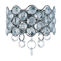 Cirque 7 Light 12 inch Polished Chrome Wall Sconce Wall Light
