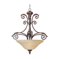 Maxim Lighting Beaumont 3 Light Pendant in Golden Fawn 24103CFGF
