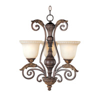 Maxim Lighting Beaumont 3 Light Mini Chandelier in Golden Fawn 24108CFGF photo thumbnail