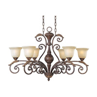 Maxim Lighting Beaumont 6 Light Single-Tier Chandelier in Golden Fawn 24109CFGF photo thumbnail