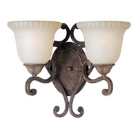 Maxim Lighting Beaumont 2 Light Wall Sconce in Golden Fawn 24112CFGF