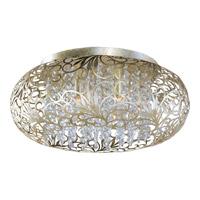 Maxim 24150BCGS Arabesque 7 Light 18 inch Golden Silver Flush Mount Ceiling Light in 50