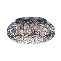 Arabesque 7 Light 18 inch Oil Rubbed Bronze Flush Mount Ceiling Light