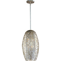 Arabesque 6 Light 13 inch Golden Silver Pendant Ceiling Light
